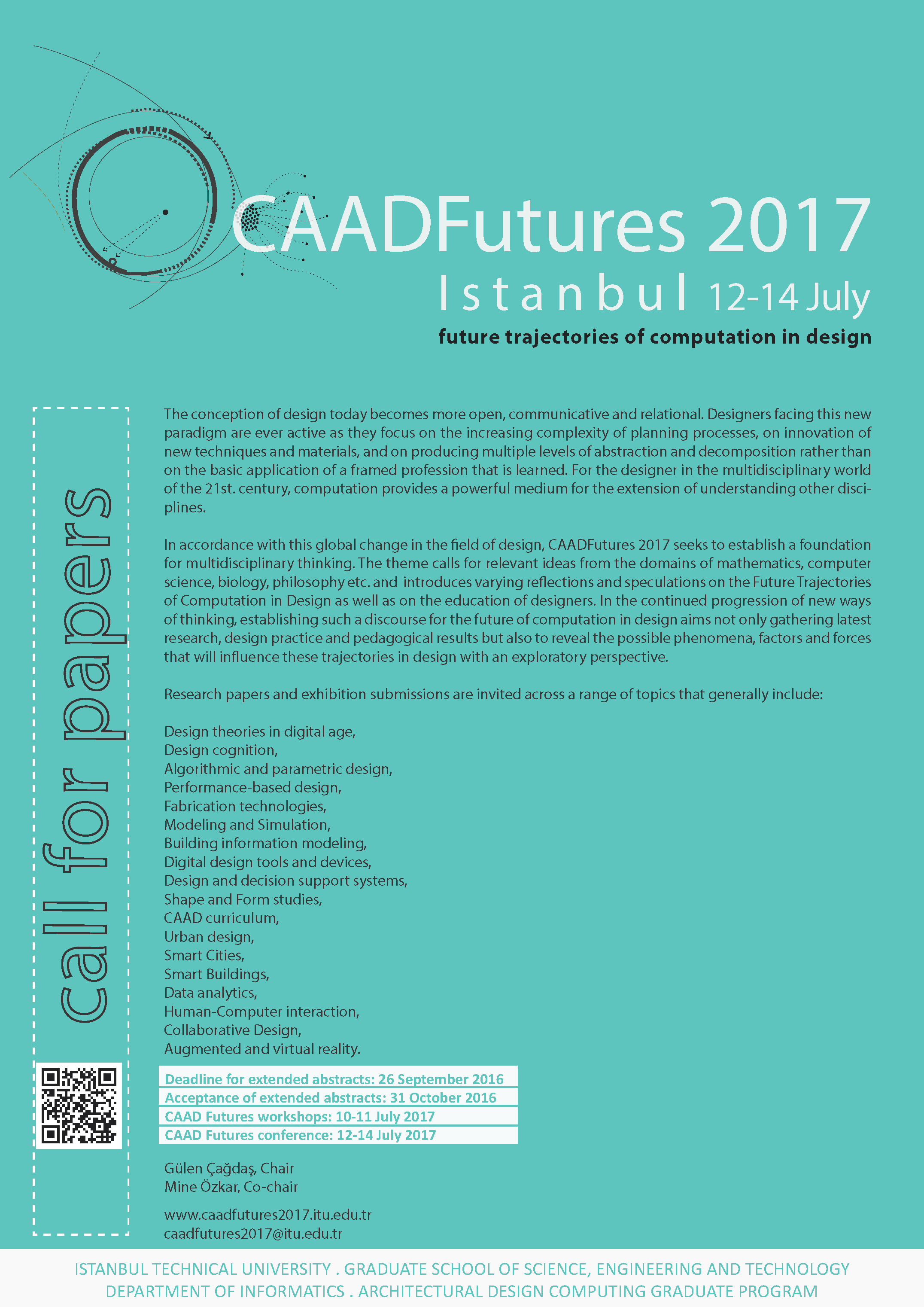 CAADFutures 2017 istanbul_call for papers_poster2